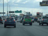 ラスベガス市内の混雑
