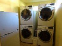 無料の洗濯・乾燥機が2セット
