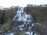Tvindefossen滝
