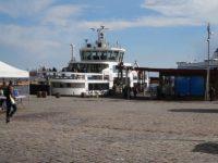 スオメンリンナ島へのフェリー、この次のに乗った
