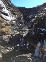ショースの滝。水量はかなり少なめだった