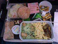 SASの機内夕食